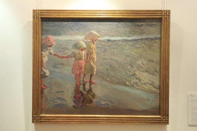 Presentan el cuadro de Sorolla y Bastida que sale por primera vez a subasta