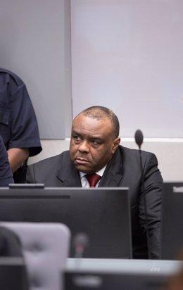 Jean-Pierre Bemba en la sede del TPI en La Haya