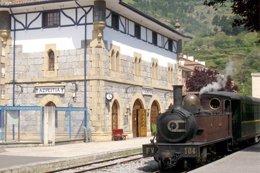 Locomotora Del Museo Vasco Del Ferrocarril