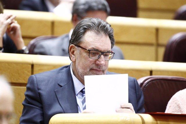 Josep Lluis Cleries, senador de Democracia y Libertad (DL)
