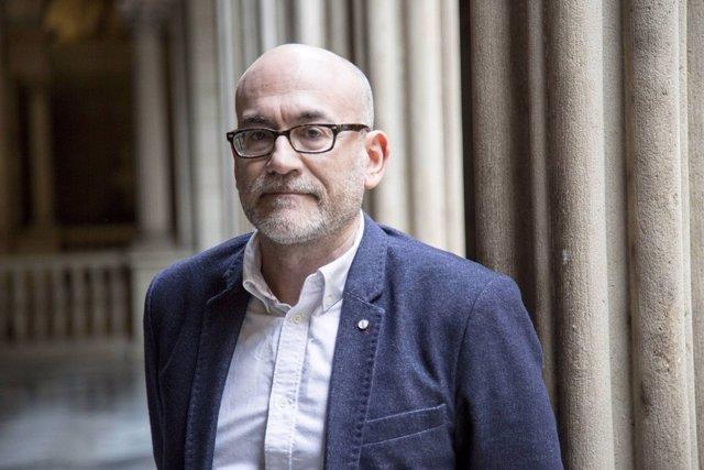 El concejal de C's en Barcelona Koldo Blanco
