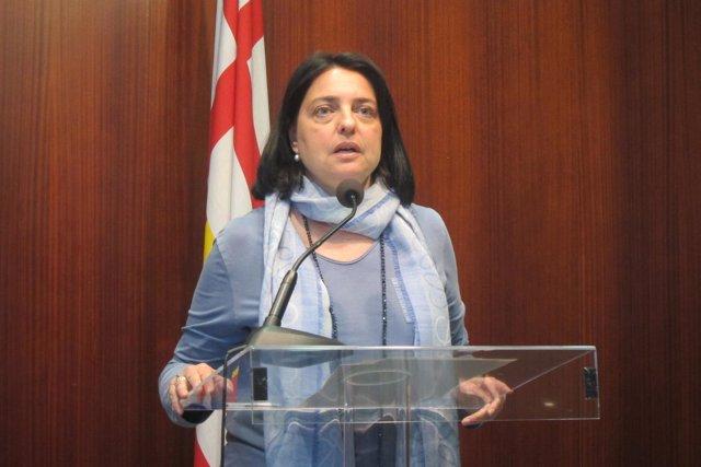 La concejal de CiU en Barcelona Sònia Recasens
