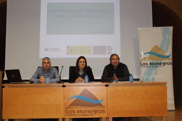 Presentación de ayudas Leader en el CEDER Monegros