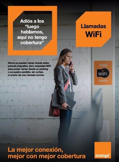 Orange permite llamadas de móvil desde zonas con escasa cobertura gracias a las redes Wifi