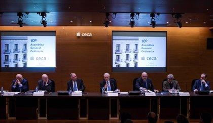 Las entidades adheridas a la CECA recortan su beneficio un 16,8% en 2015