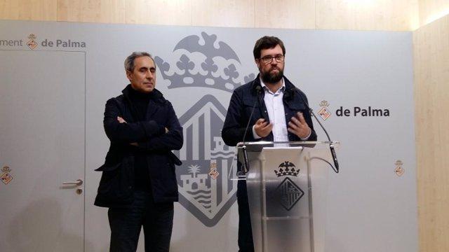 El titular del área de Modelo de Ciudad, Antoni Noguera