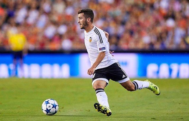 Valencia CF Vs AS Monaco. José Gayà