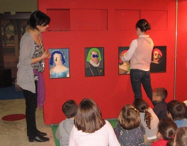 Taller en el Museo de BBAA de Valencia