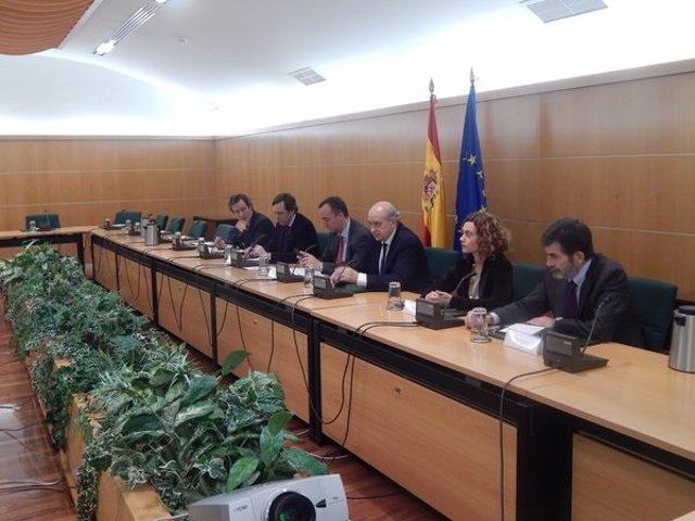 Reunión de la Comisión de Seguimiento del Pacto Antiyihadista