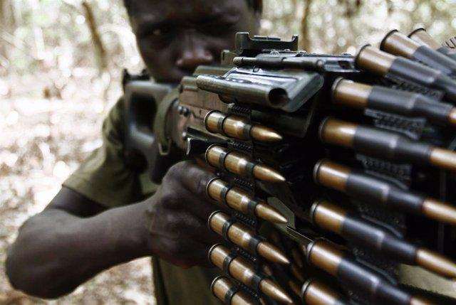Combatiente del LRA