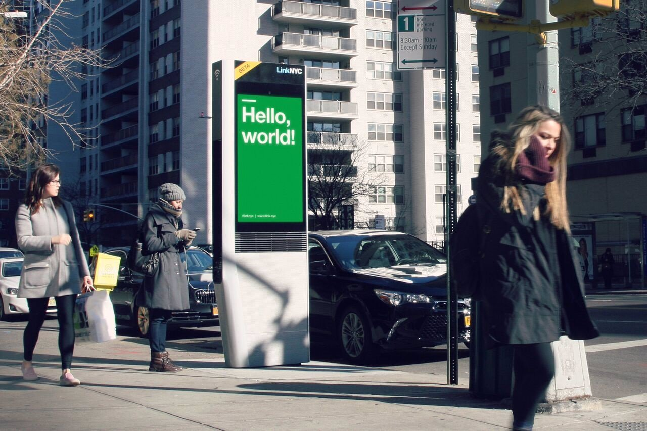 LinkNYC wifi gratis
