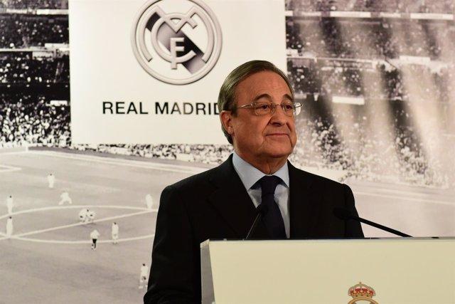 """Florentino Pérez: """"Cruyff marcó una época, es un día muy triste para el fútbol"""""""