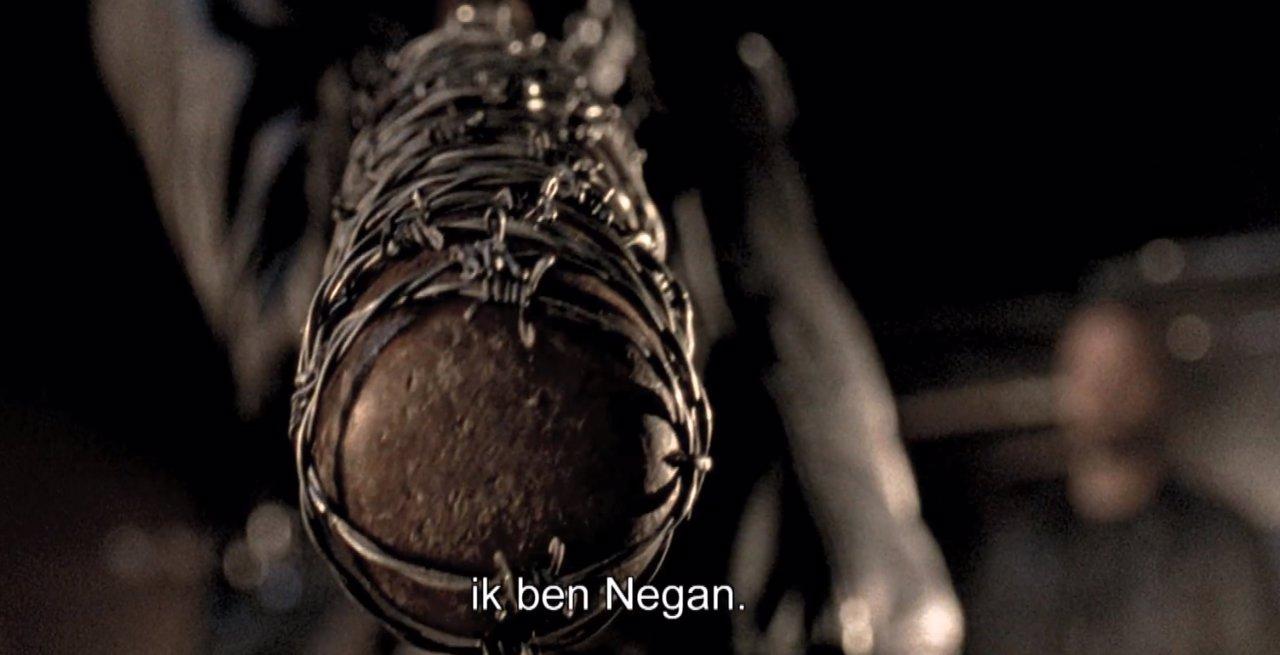 Jeffrey Dean Morgan en Negan en The Walking Dead