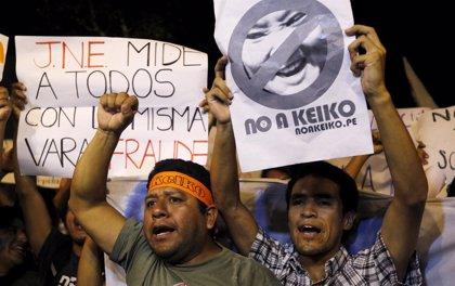 Apelan el fallo que permite a Keiko Fujimori seguir en la carrera presidencial