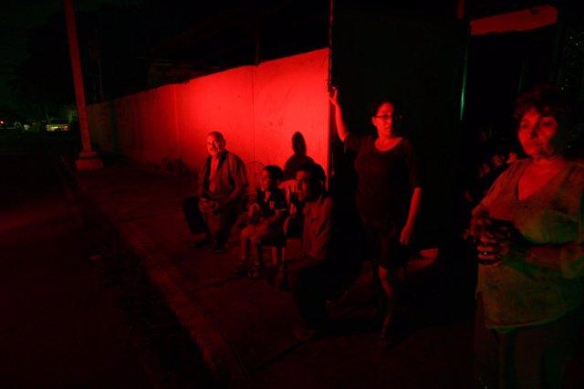 Apagón eléctrico en Venezuela