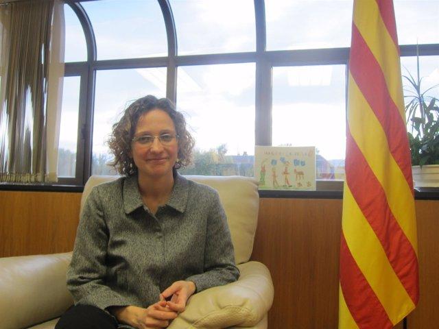 La consellera de Enseñanza de la Generalitat Meritxell Ruiz