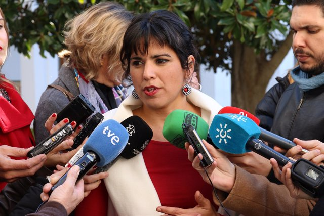 Teresa Rodríguez, de Podemos