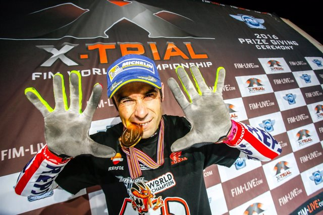 Toni Bou campeón mundo trial décimo título