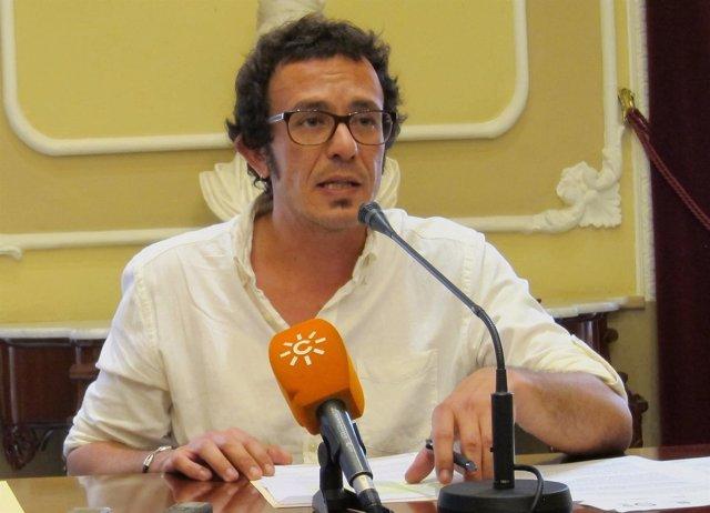El alcalde de Cádiz, José María González, en rueda de prensa