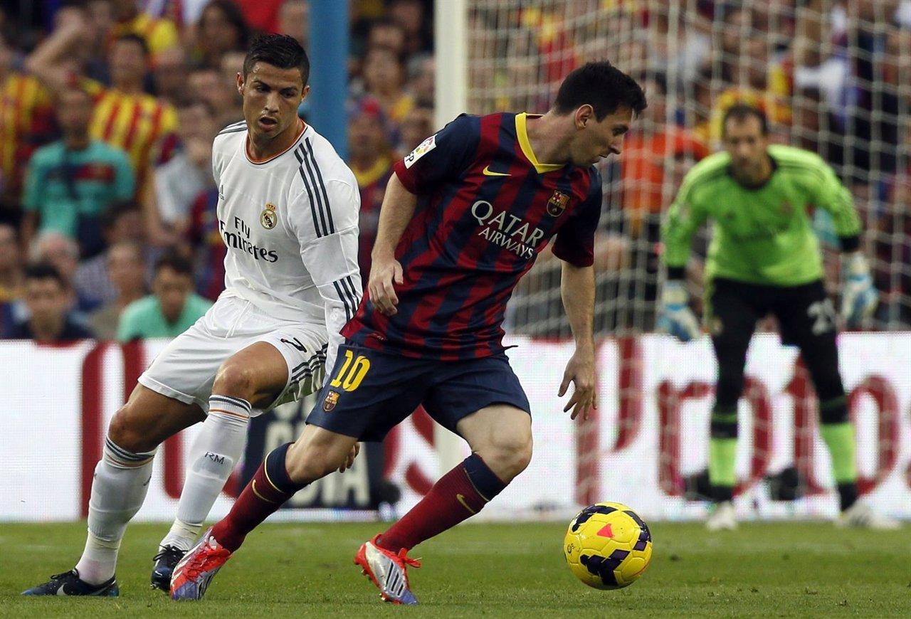 Barcelona Messi Real Madrid Cristiano Ronaldo