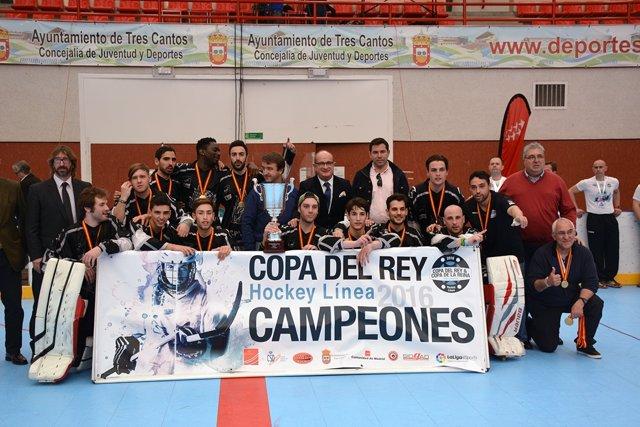 Rubí Cent Patins campeón Copa Rey hockey