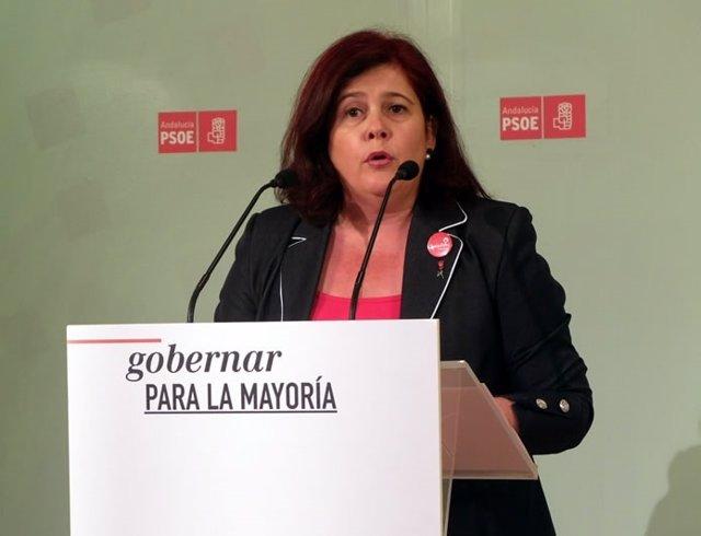 La diputada socialista Elvira Ramón