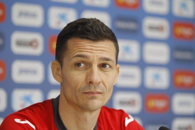 Constantin Galca, entrenador del RCD Espanyol