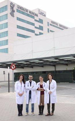Miembros del Área Clínica de Enfermedades Respiratorias de La Fe