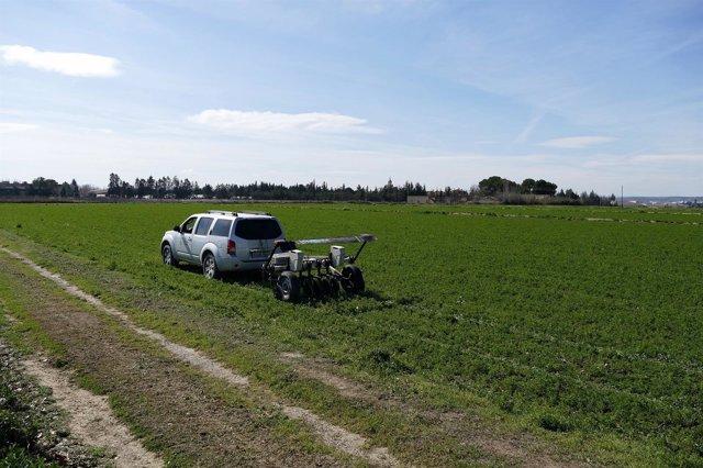 Agricultura de precisión.