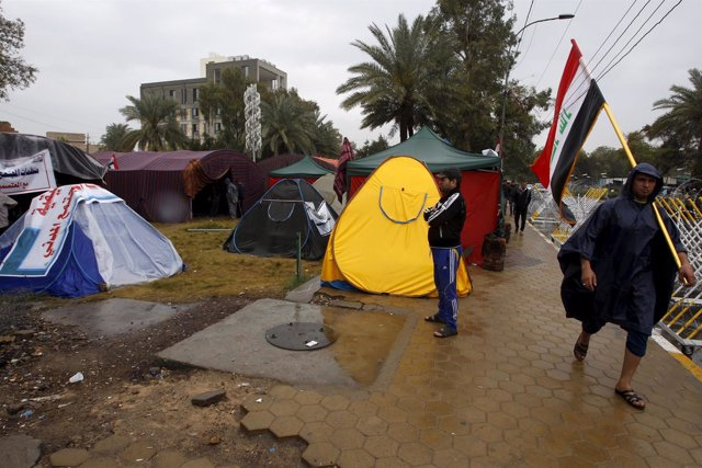 Protestas de Muqtada al Sadr en Irak