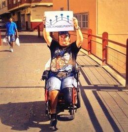 Vecinos reivindican la restauración de un puente en Almería