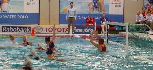 Selección española de waterpolo en el Preolímpico femenino