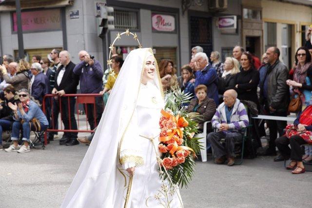 Concluye la Semana Santa Marinera con el Desfile del Domingo de Resurrección