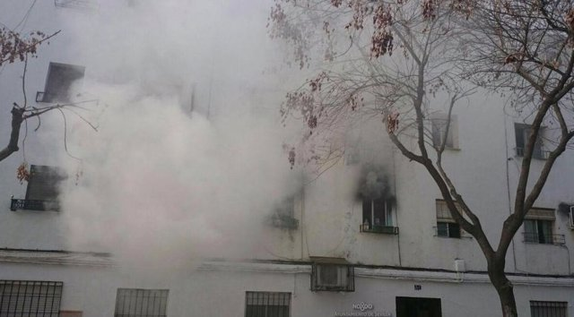 Incendio en una vivienda en Torreblanca