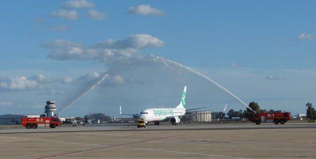 El aeropuerto de Sevilla estrena una nueva ruta con Múnich