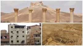 La histórica ciudad de Palmira, en imágenes tras la reconquista siria
