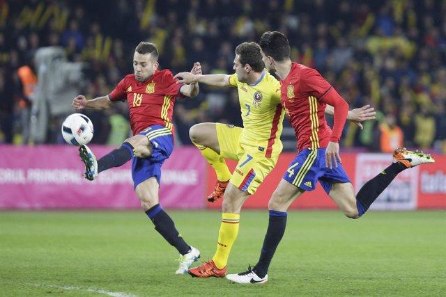 España repite en Rumanía su pobre imagen dada en Italia