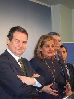 Abel Caballero y Carmela Silva