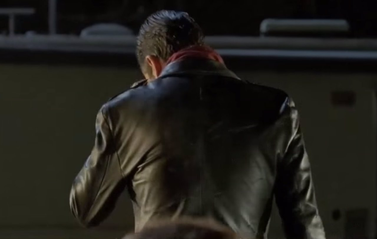 Jeffrey Dean Morgan es Negan en The Walking Dead
