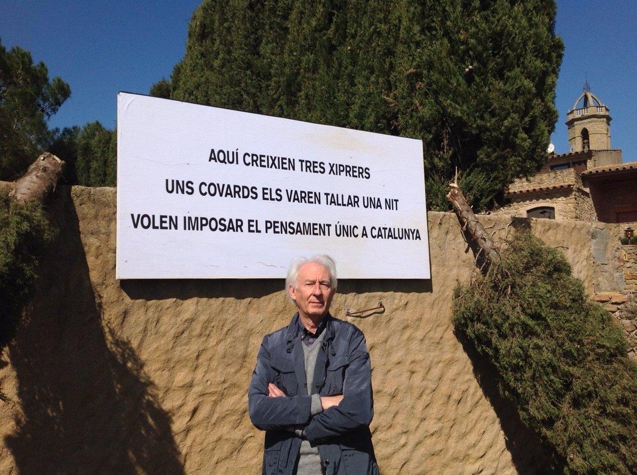 Albert Boadella denuncia los ataques sufridos en su casa de Gerona