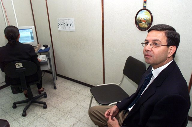 El ex presidente de Honduras Rafael Leonardo Callejas