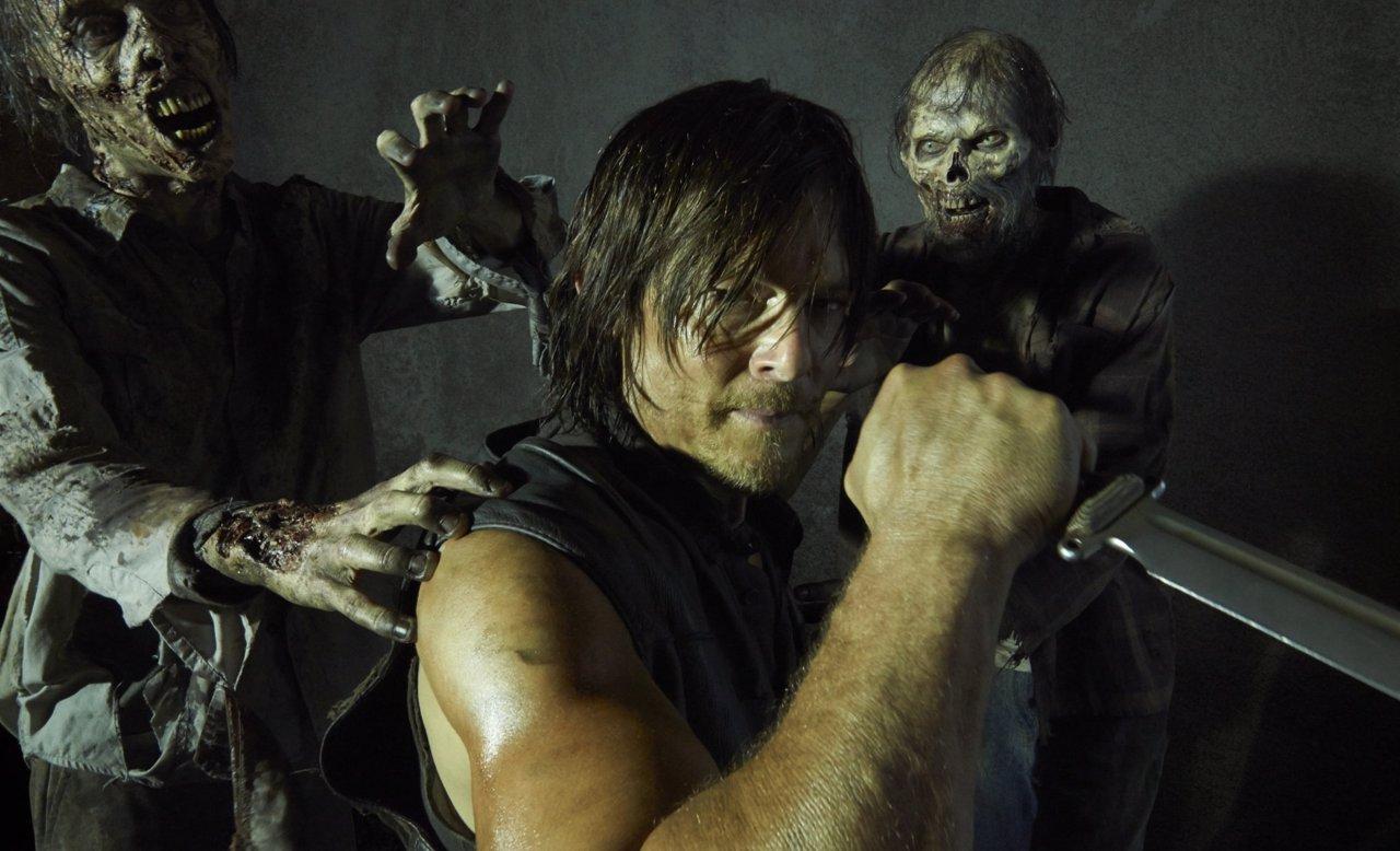 Daryl (Norman Reedus) en The Walking Dead, quinta temporada