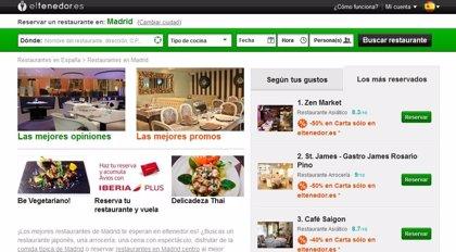 Las reservas 'online' de restaurantes en Semana Santa crecieron un 50% en España