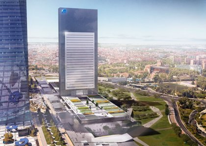 Villar Mir alquila al IE Business School la futura quinta torre de la Castellana de Madrid