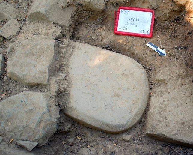 Estela etrusca