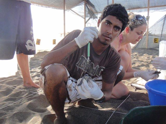 El biólogo Jairo Mora Sandoval de 26 años asesinado en Limón, Costa Rica.