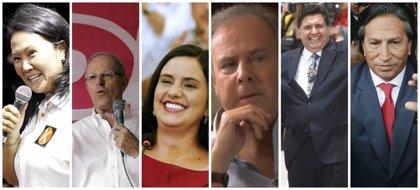 Estos son los candidatos a la presidencia de Perú