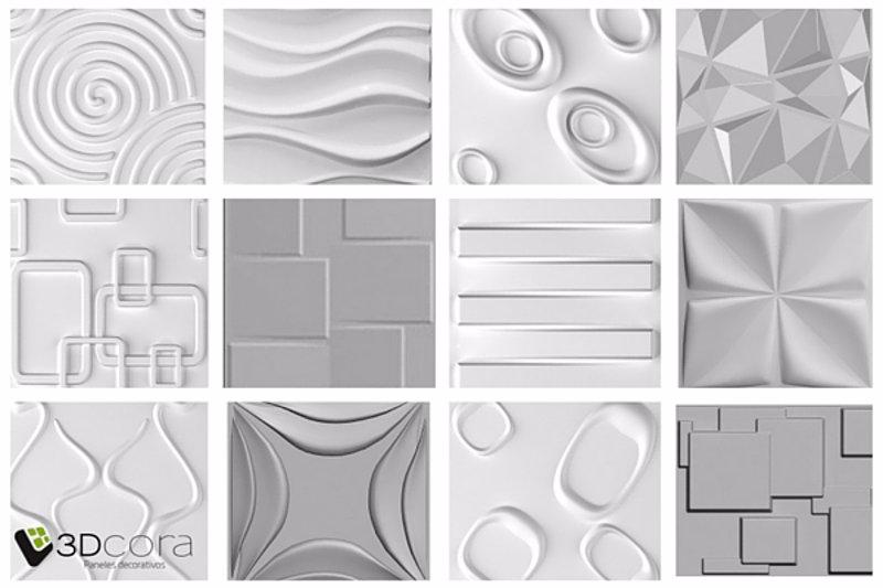 Los paneles decorativos 3d ltima tendencia en decoraci n de paredes Tableros decorativos