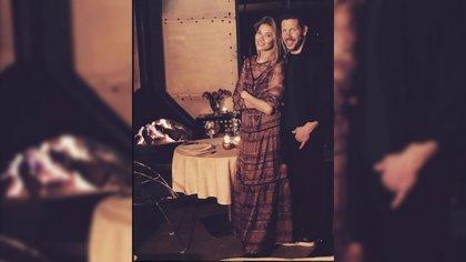 El 'Cholo' Simenone y Carla Pereyra, embarazados
