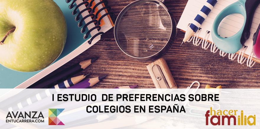 I Estudio de preferencias sobre colegios en España